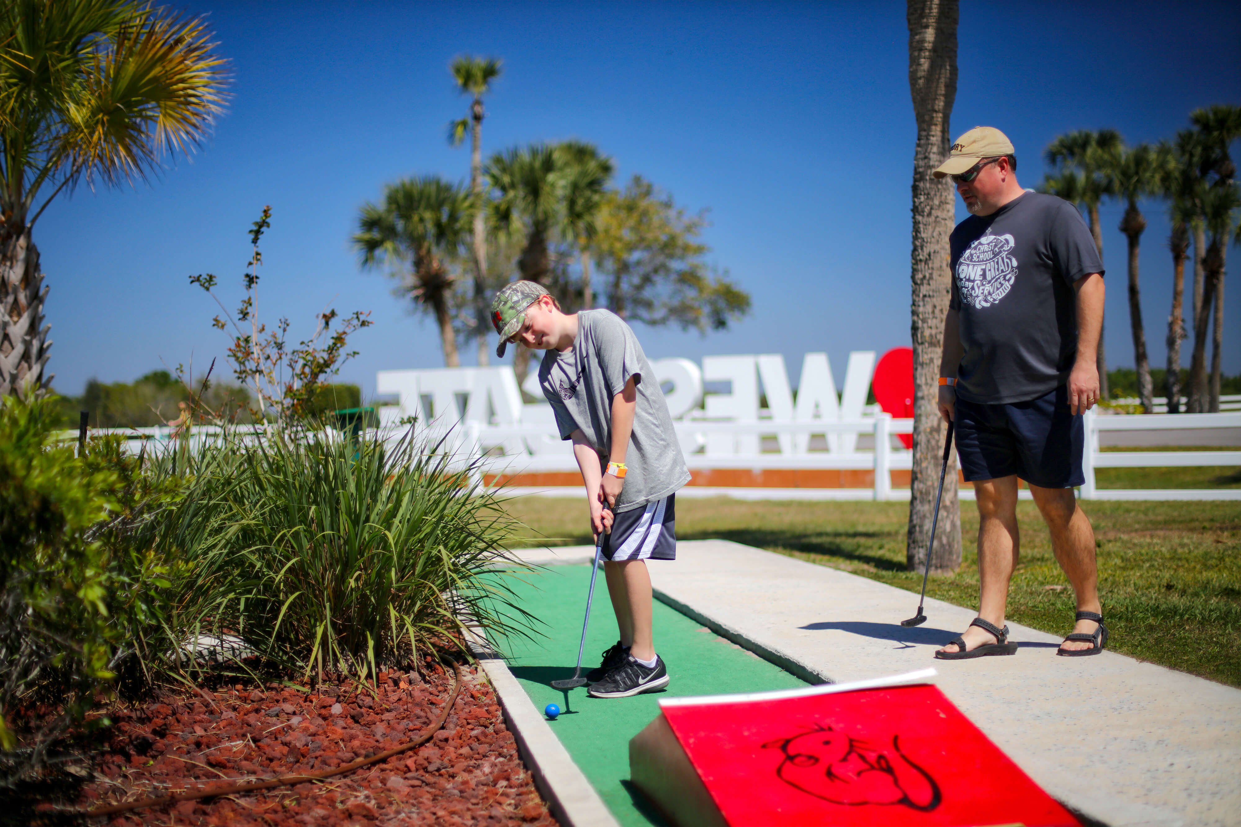 Family Mini-Golf near River Ranch, FL |  Westgate River Ranch Resort & Rodeo | Westgate Resorts