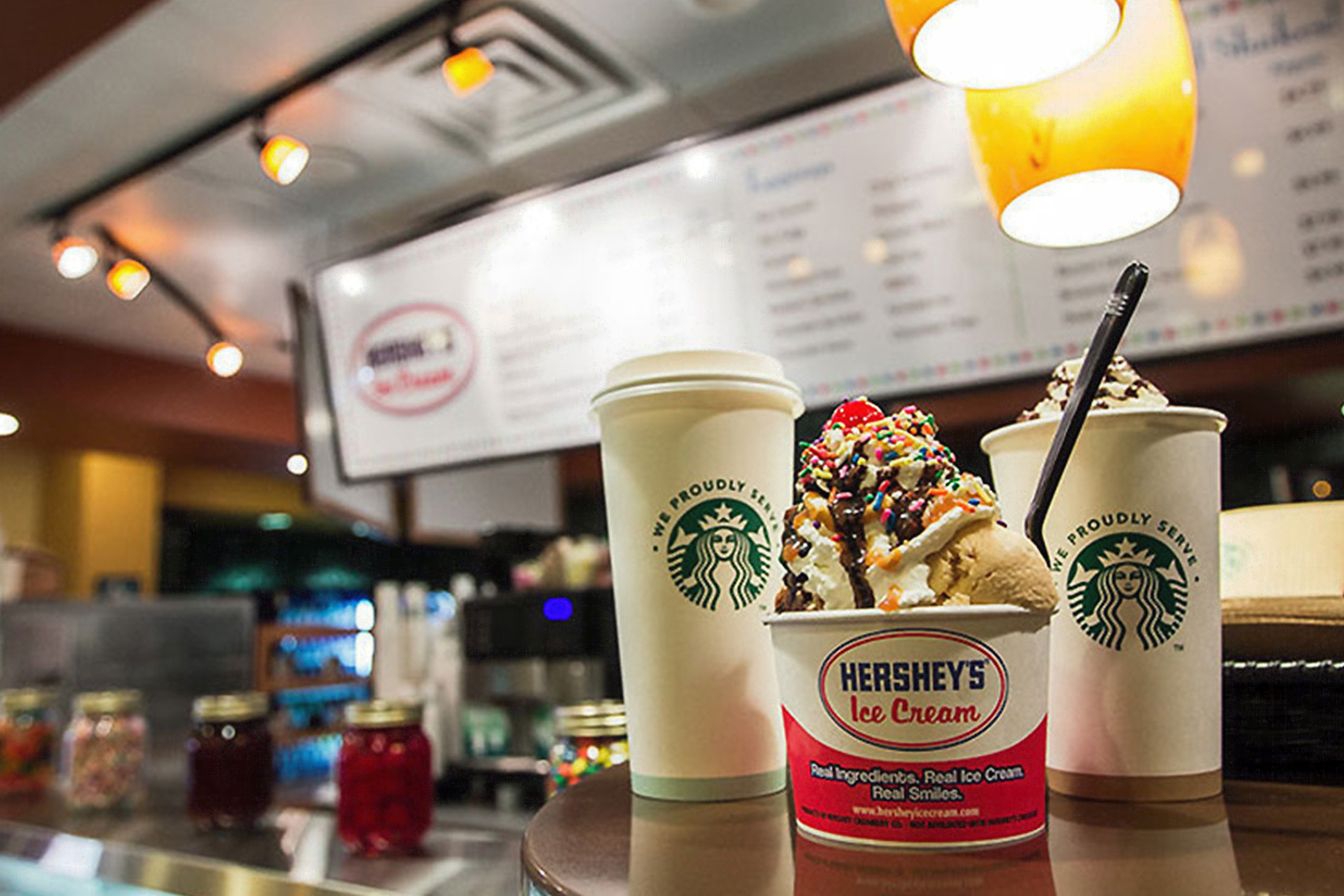 Hershey's Ice Cream Shop at one of our resorts in Kissimmee FL | Westgate Vacation Villas Resort & Spa | Westgate Resorts