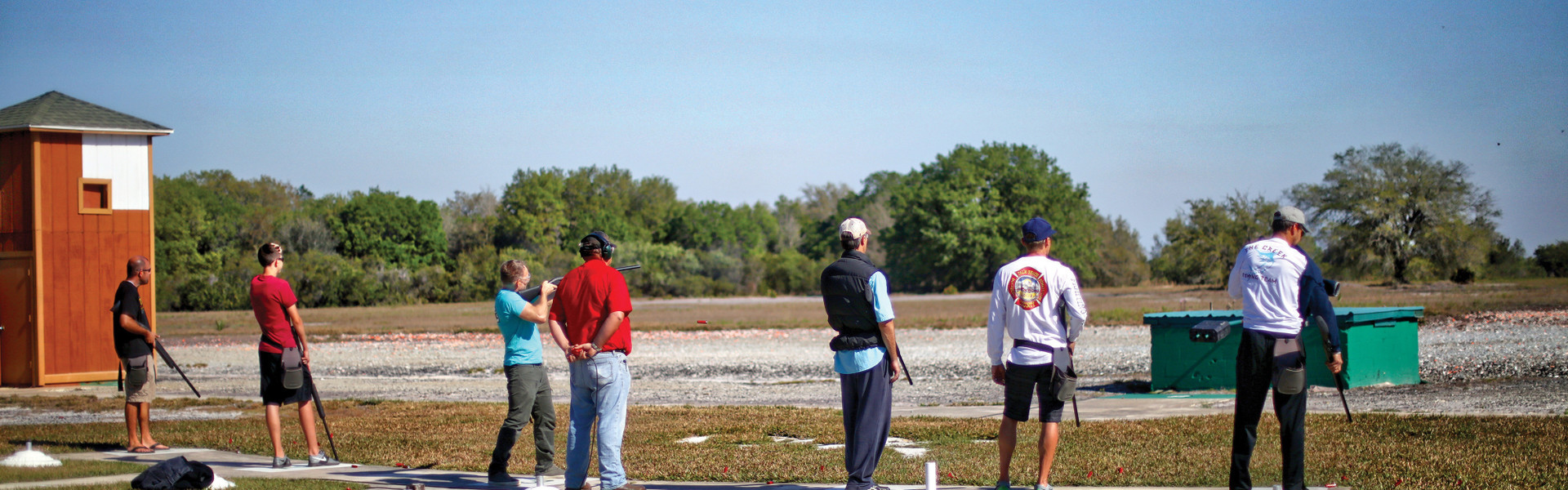 Beginner or expert shooters can enjoy the Trap and Skeet Range at Westgate River Ranch Resort & Rodeo in Florida. Rent shooting equipment or bring your own. Westgate River Ranch can also host your trap and/or skeet association/group at our range.