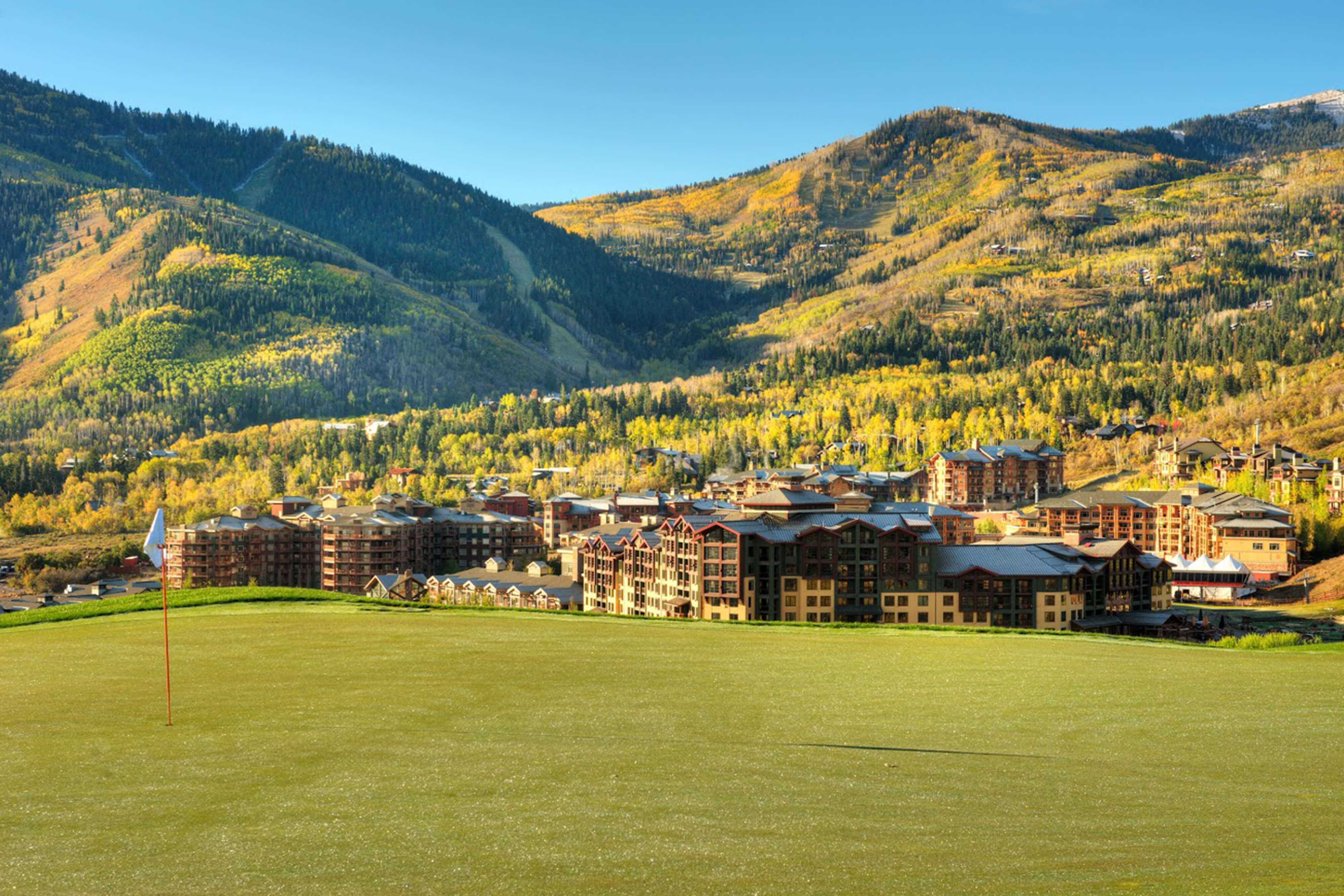 Picturesque Golf Course View at our Park City Utah Resorts | Westgate Park City Resort & Spa | Westgate Resorts