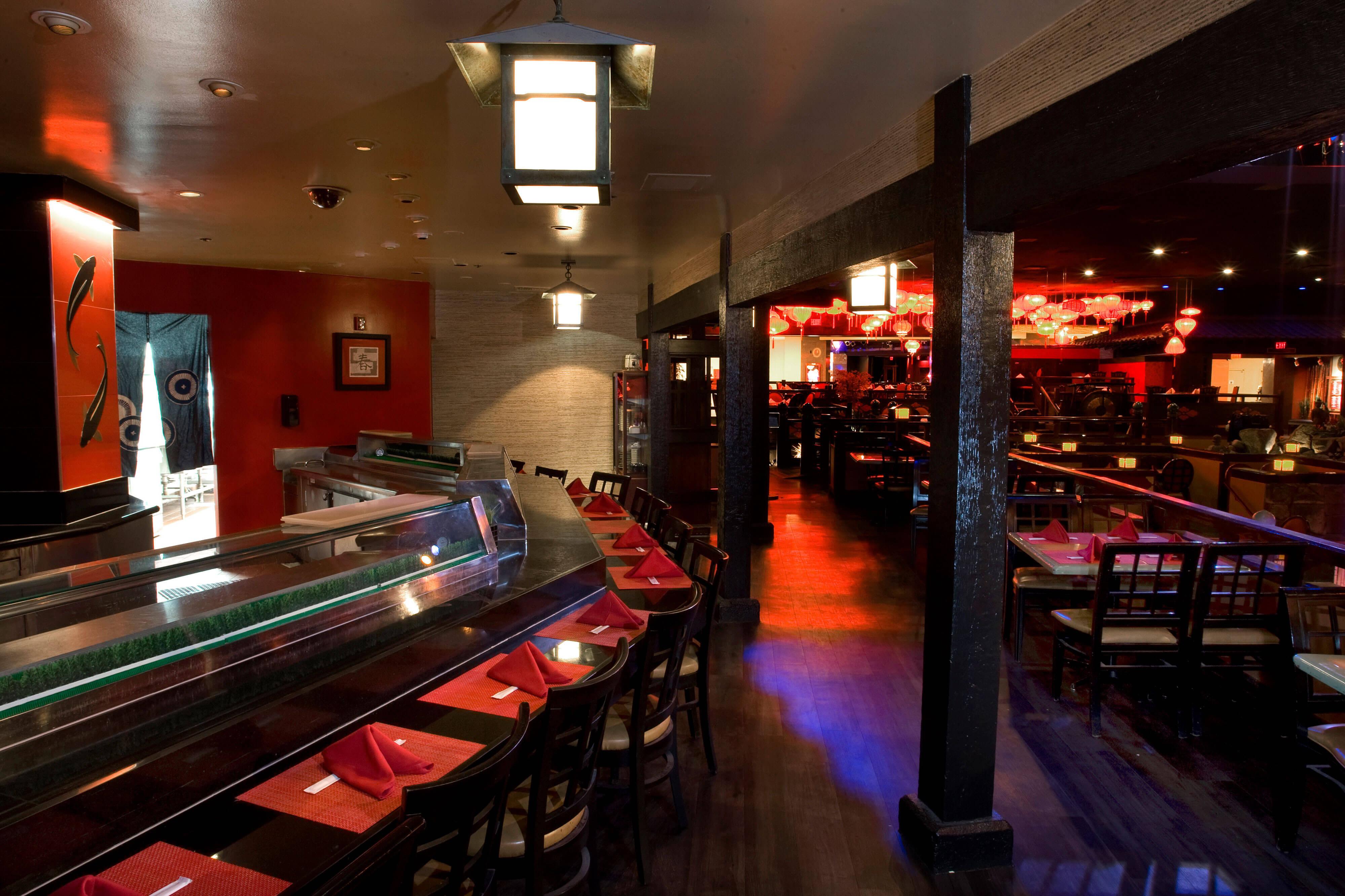 Rikki Tiki Sushi in Las Vegas, NV | Westgate Las Vegas Resort & Casino | Westgate Resorts