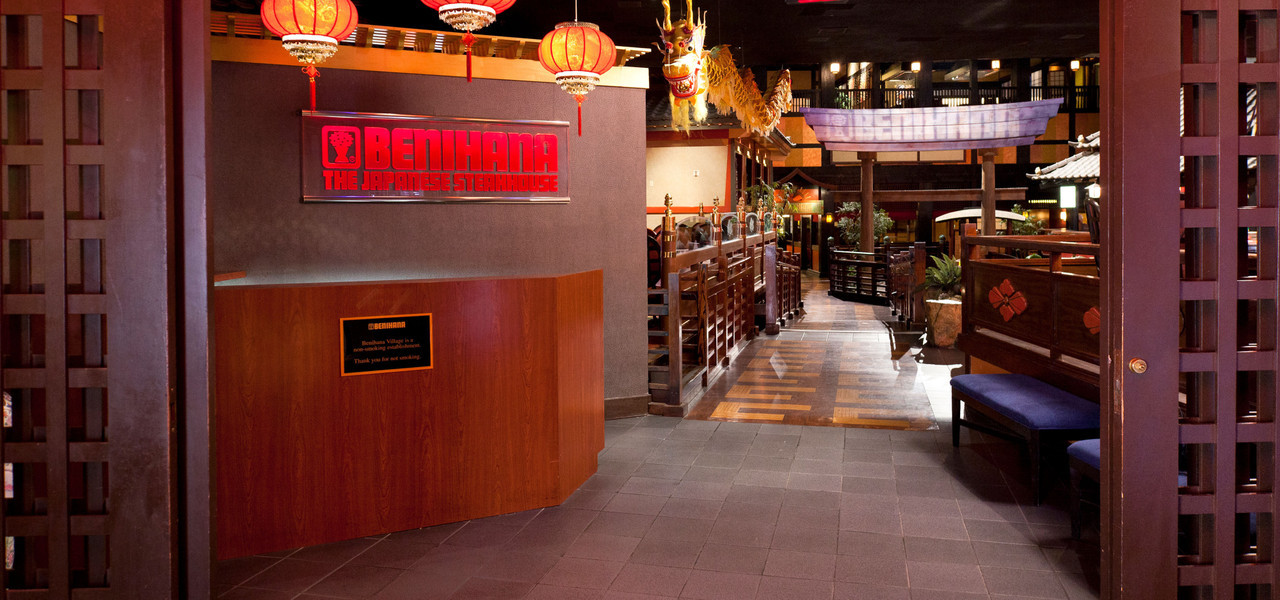 Benihana Las Vegas, NV | Benihana hibachi in Las Vegas is world famous | Westgate Resorts