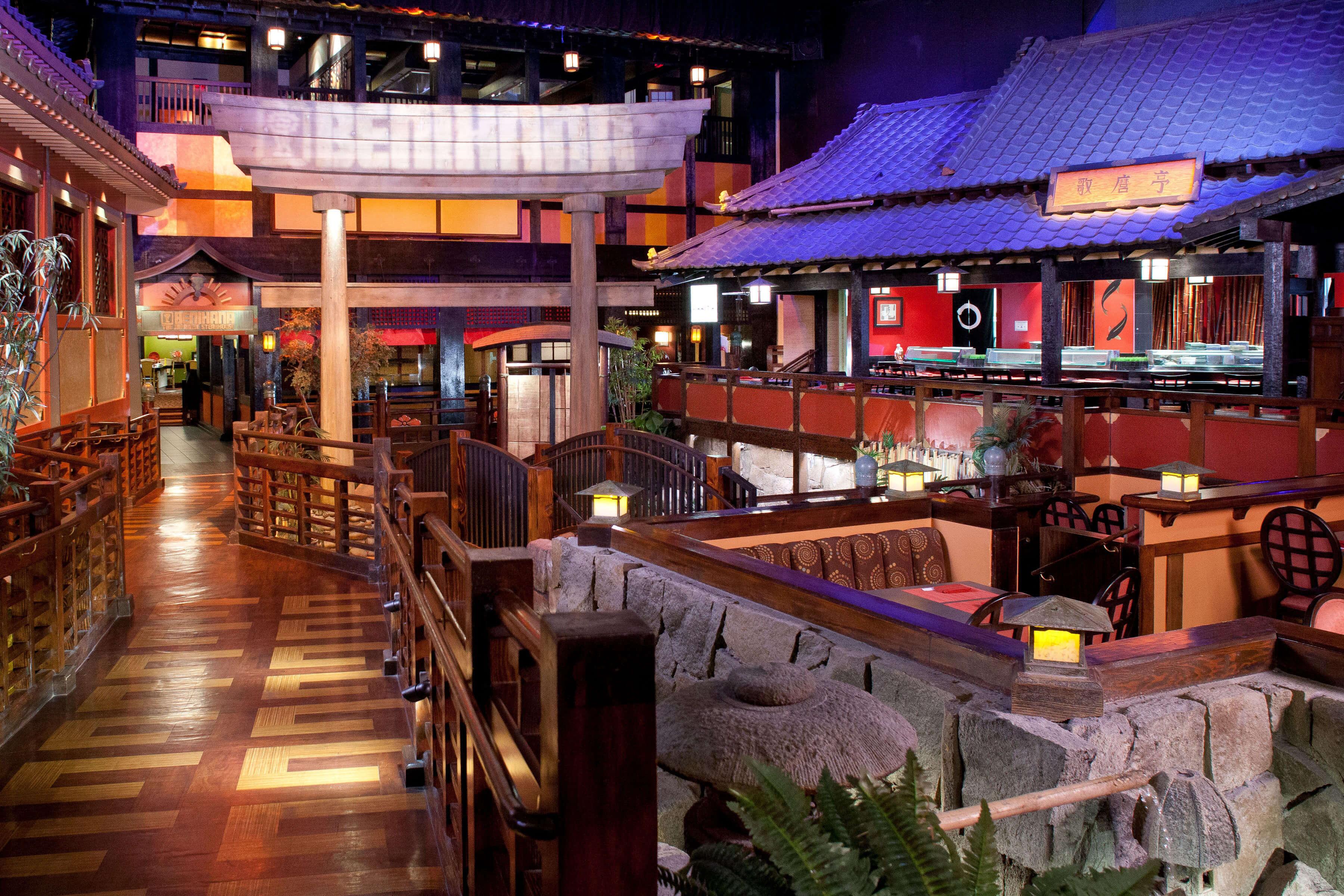 Interior of Benihana Las Vegas NV | Benihana hibachi in Las Vegas is world famous | Westgate Resorts
