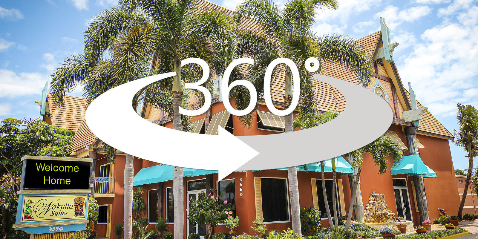 360 degree virtual tour through the Two Bedroom Deluxe Villa   Wakulla  Suites A. Wakulla Suites A Westgate Resort in Cocoa Beach Florida   Westgate