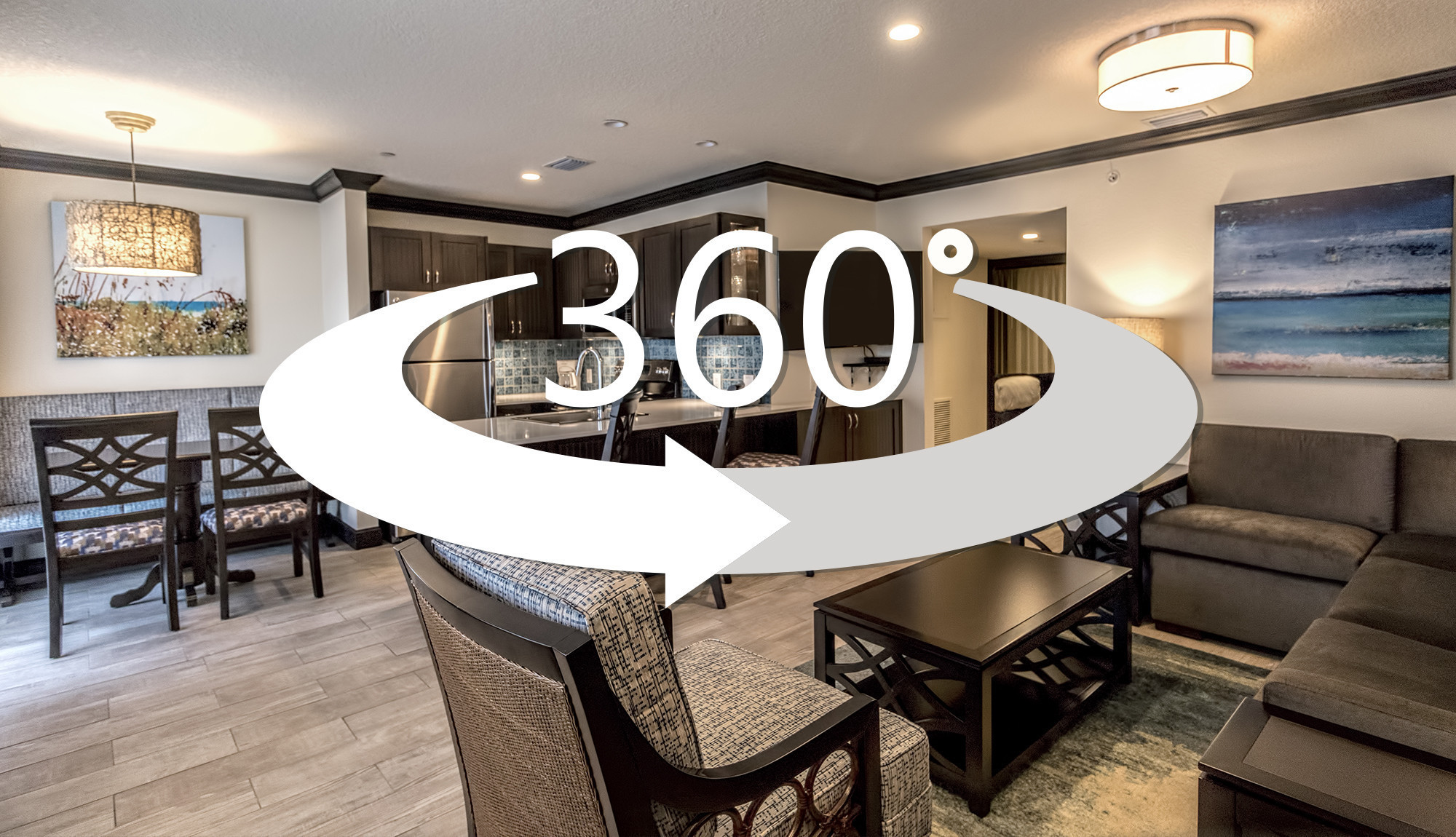 360-degree virtual tour of Two-Bedroom Deluxe Villa | Wakulla Suites a Westgate Resort