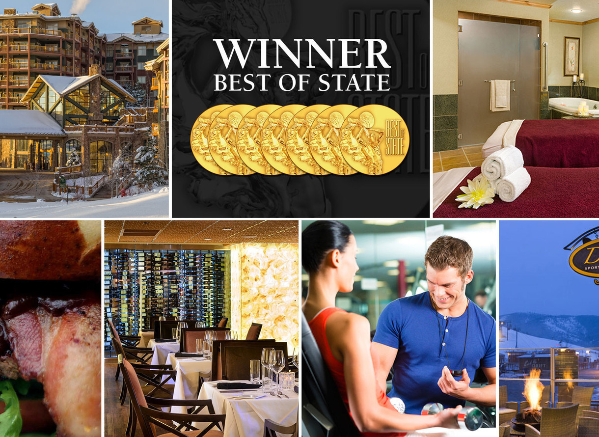 Westgate Park City Resort Spa Best Of State Awards Park City Utah