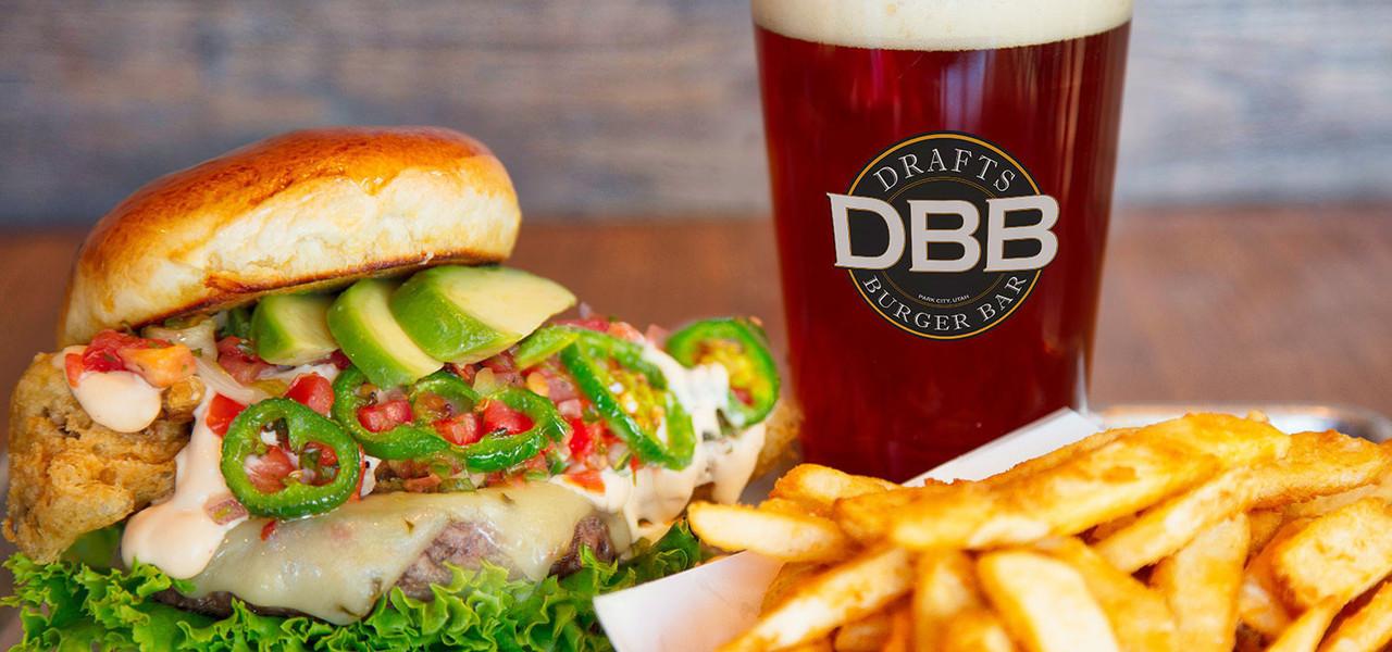 Sandwich Platter at Drafts Burger Bar in the Park City Resort in Utah | Westgate Park City Resort & Spa | Westgate Resorts