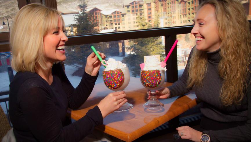 Dessert at Drafts Burger Bar at our Canyons Park City Resort in Utah   Westgate Park City Resort & Spa   Westgate Resorts
