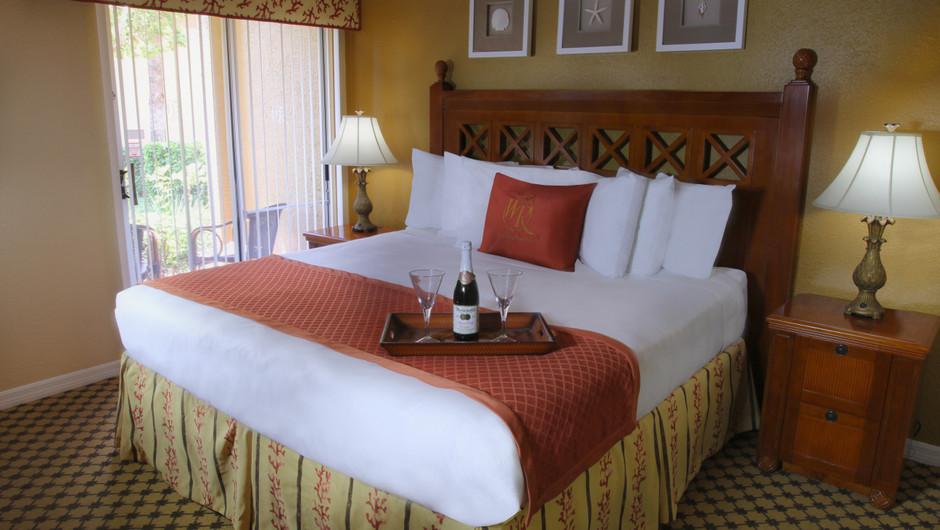 Bed in Two-Bedroom Deluxe Villa   Westgate Blue Tree Resort   Westgate Resorts Orlando