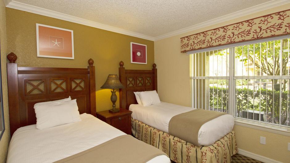 Second Bedroom | Two-Bedroom Villa | Westgate Blue Tree Resort