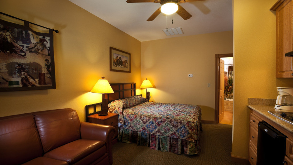 Saddle Club Studio Cabin |  Westgate River Ranch Resort & Rodeo | Westgate Resorts