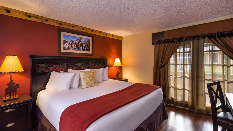 Bed in Lodge Two-Bedroom Cottage |  Westgate River Ranch Resort & Rodeo | Westgate Resorts