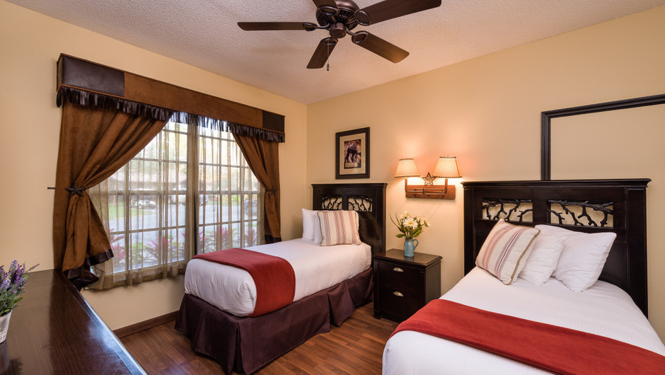 2 Beds in Lodge Two-Bedroom Cottage |  Westgate River Ranch Resort & Rodeo | Westgate Resorts