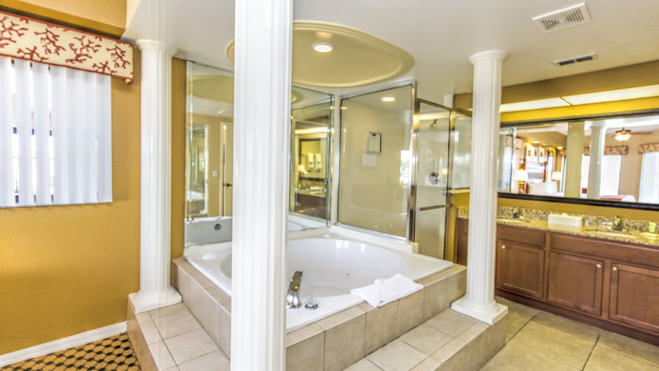 Hot-tub at Two-Bedroom Villa in Orlando, FL | Westgate Lakes Resort & Spa | Westgate Resorts