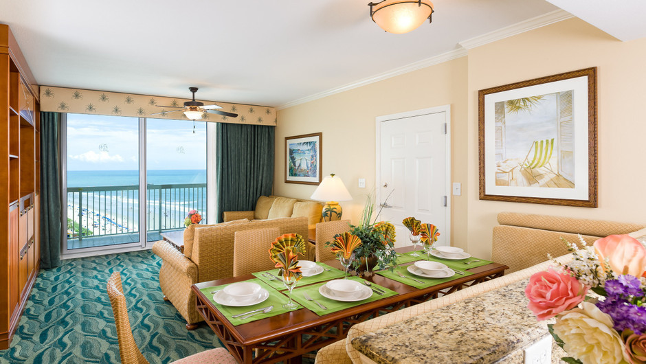 Two Bedroom Ocean View Villa | Westgate Myrtle Beach Oceanfront Resort | Westgate Resorts