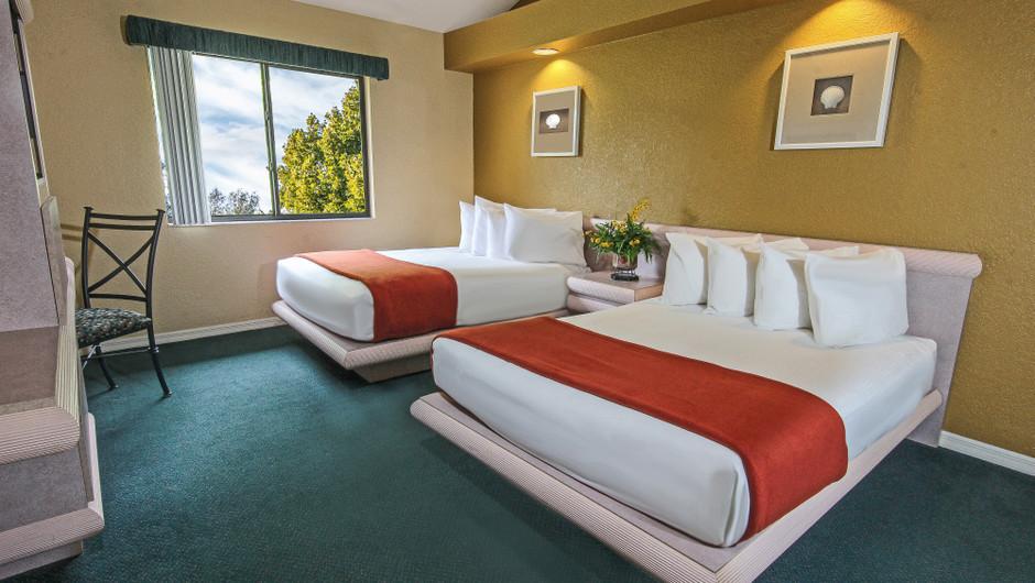 Two-Bedroom Deluxe Villa Guest Bedroom | Westgate Vacation Villas Resort & Spa | Orlando, FL | Westgate Resorts