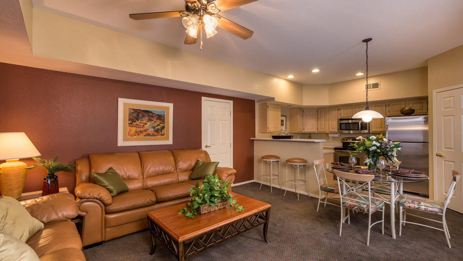 One-Bedroom Villas at Painted Mountain golf resort Mesa AZ | Westgate Painted Mountain Golf Resort | Westgate Resorts