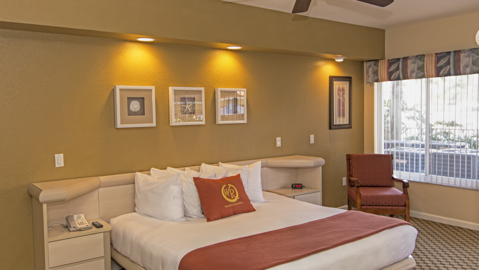 Bedroom with King Bed | Two-Bedroom Deluxe Villa | Westgate Town Center Resort & Spa | Westgate Resorts