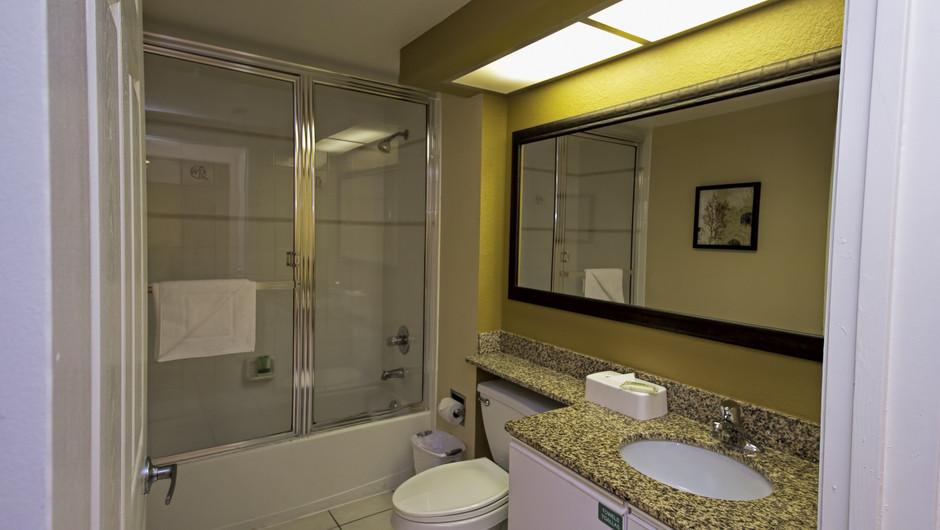 Bathroom | Two-Bedroom Deluxe Villa | Westgate Town Center Resort & Spa | Westgate Resorts