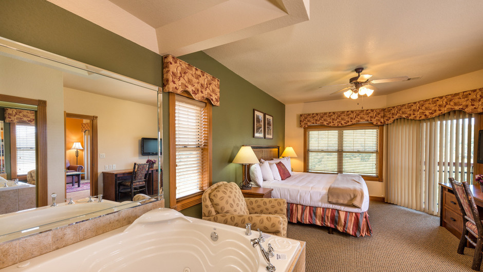 Hot-tub in One Bedroom Grand Villa in our Branson Villas | Westgate Branson Woods Resort | Westgate Resorts