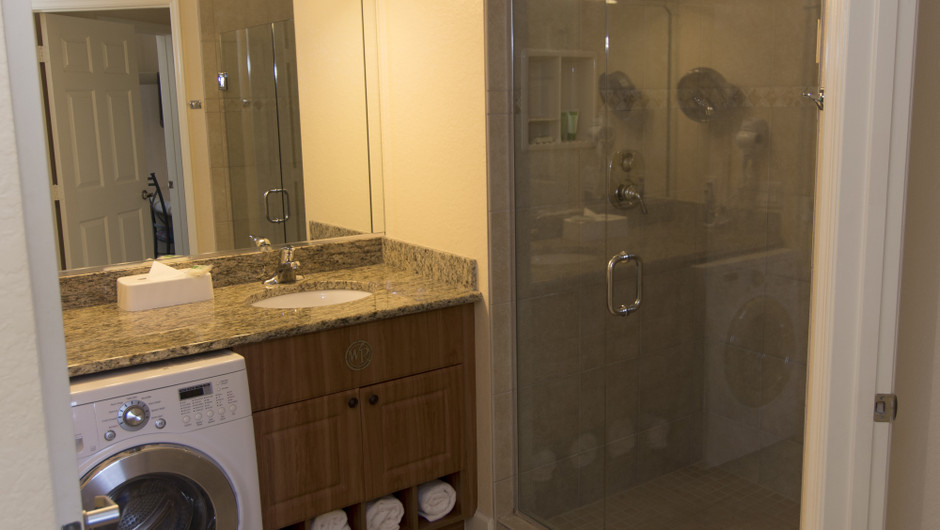 Bathroom | One-Bedroom Villa | Westgate Town Center Resort & Spa | Westgate Resorts