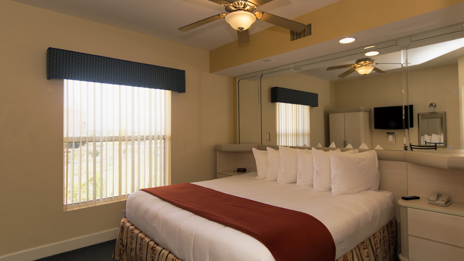 Bedroom with King Bed | One-Bedroom Villa | Westgate Town Center Resort & Spa | Westgate Resorts