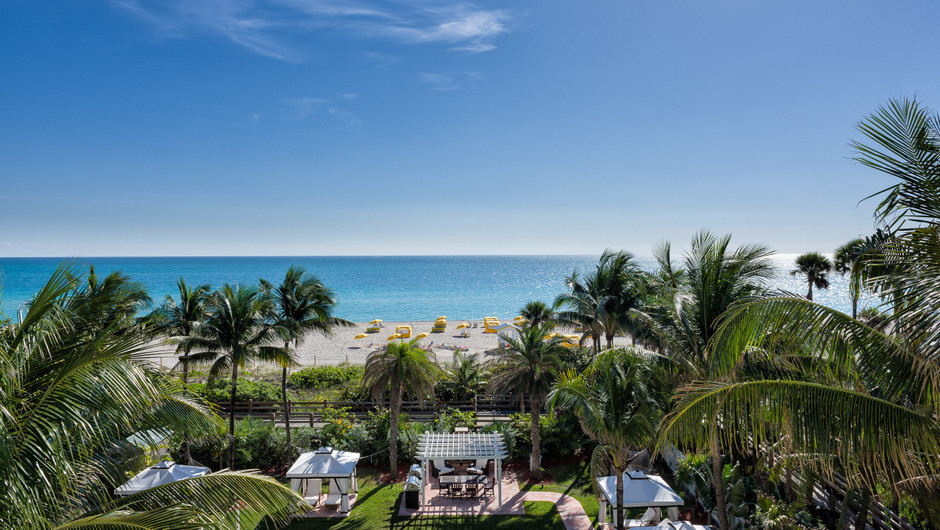View From One Bedroom Oceanfront Villas At Our Miami Beach Resorts Westgate South