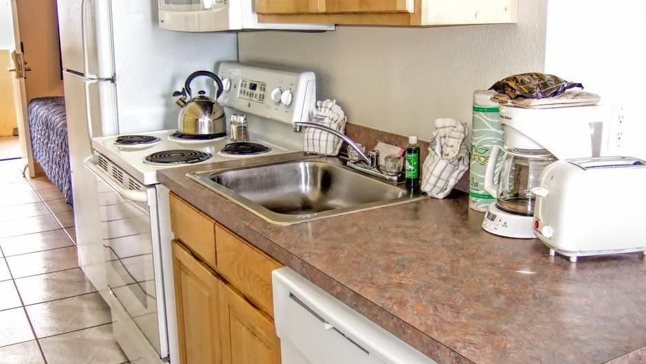Kitchen at our Daytona Beach resorts | Harbour Beach Resort | Westgate Resorts