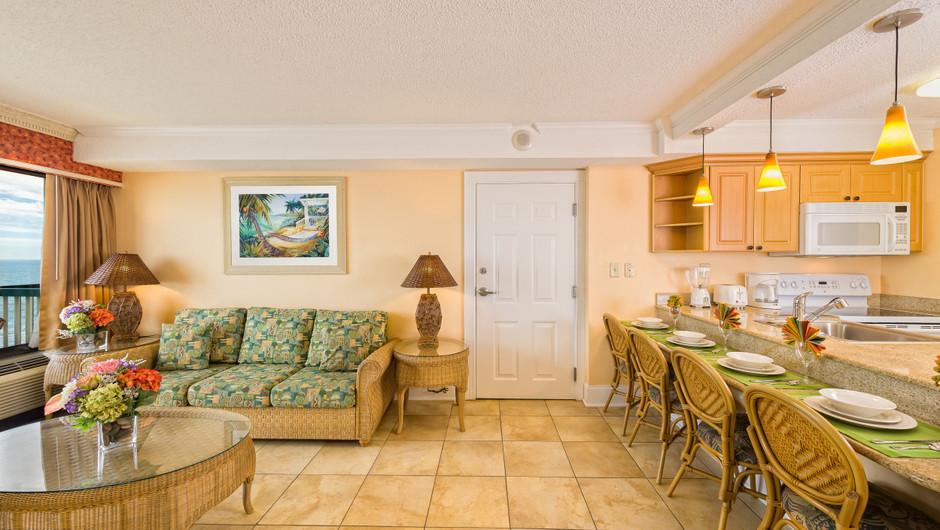 One-Bedroom Deluxe Oceanfront Villa   Westgate Myrtle Beach Oceanfront Resort   Westgate Resorts & Condos in Myrtle Beach