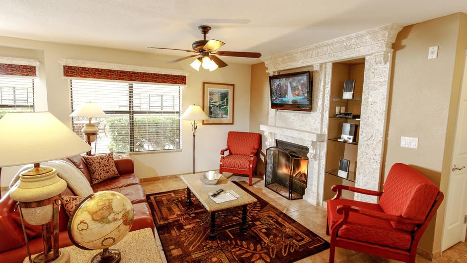 Two-Bedroom Deluxe Villa at our Flamingo Las Vegas hotel | Westgate Flamingo Bay Resort | Westgate Resorts in Las Vegas NV
