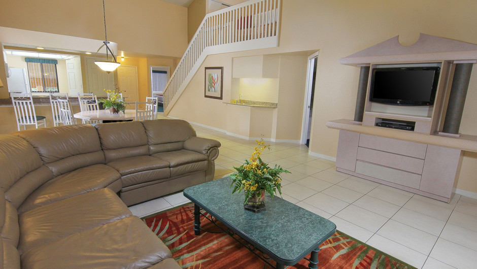 Two-Bedroom Villa with Loft Living Area | Westgate Vacation Villas Resort & Spa | Orlando, FL | Westgate Resorts
