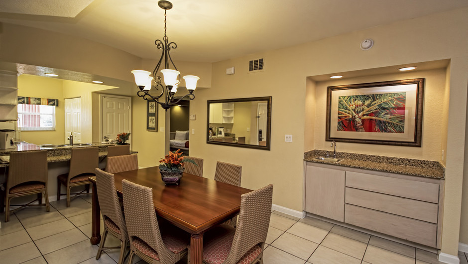 Dining Area | Three-Bedroom Deluxe Villa | Westgate Town Center Resort & Spa | Westgate Resorts