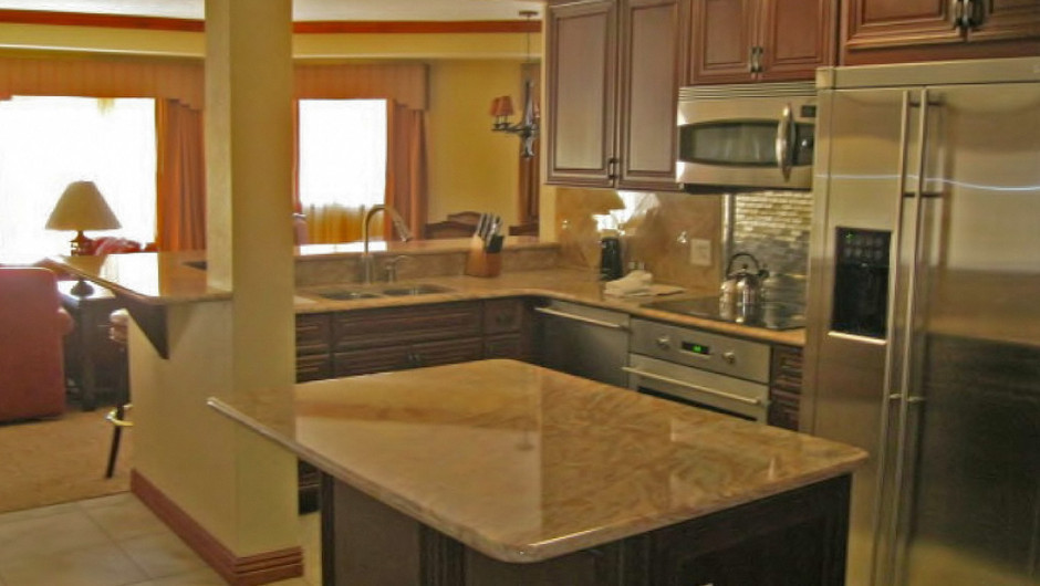 Luxury Three-Bedroom Villa Kitchen at our Park City Resort in Utah | Westgate Park City Resort & Spa | Westgate Resort