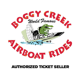 Boggy Creek Airboat Rides Authorized Ticket Seller