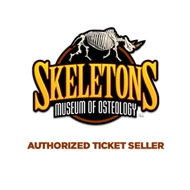SKELETONS: Museum of Osteology Authorized Ticket Seller