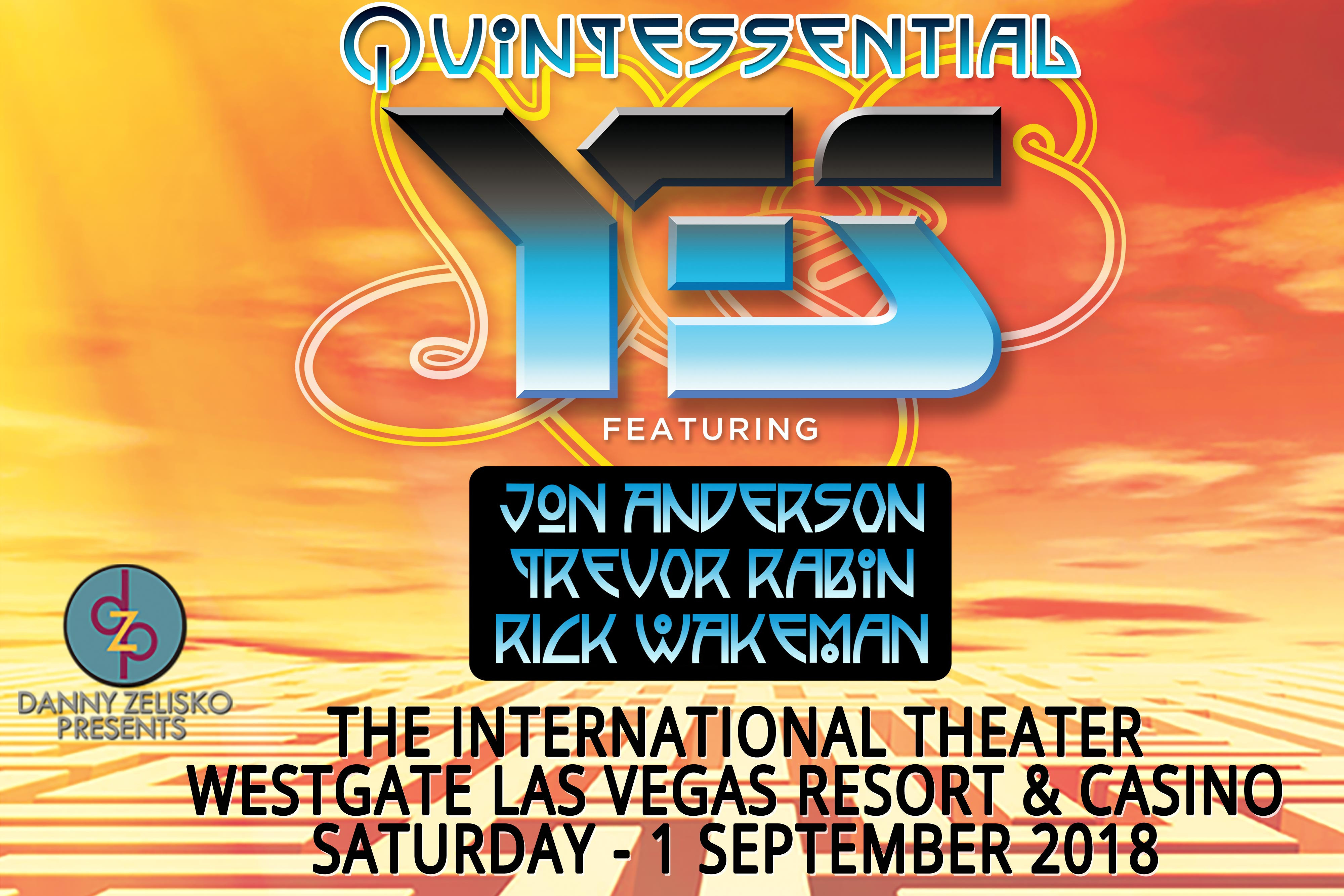 An Evening with YES | YES Fiftieth Anniversary Tour | Westgate Las Vegas Resort & Casino