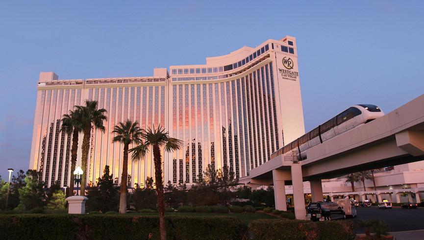 Exterior of our Las Vegas hotel | Westgate Las Vegas Resort & Casino