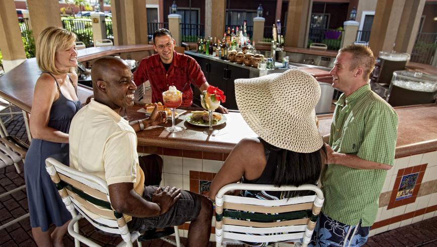 Poolside Bar at resort in Orlando Florida |  Westgate Lakes Resort & Spa | Westgate Resort