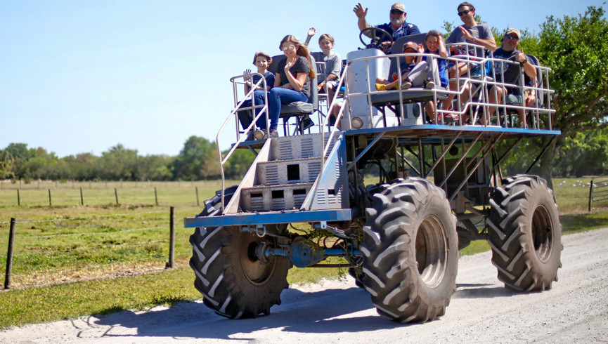 Swamp Buggy Rides Near Orlando, FL |  Westgate River Ranch Resort & Rodeo | Westgate Resorts