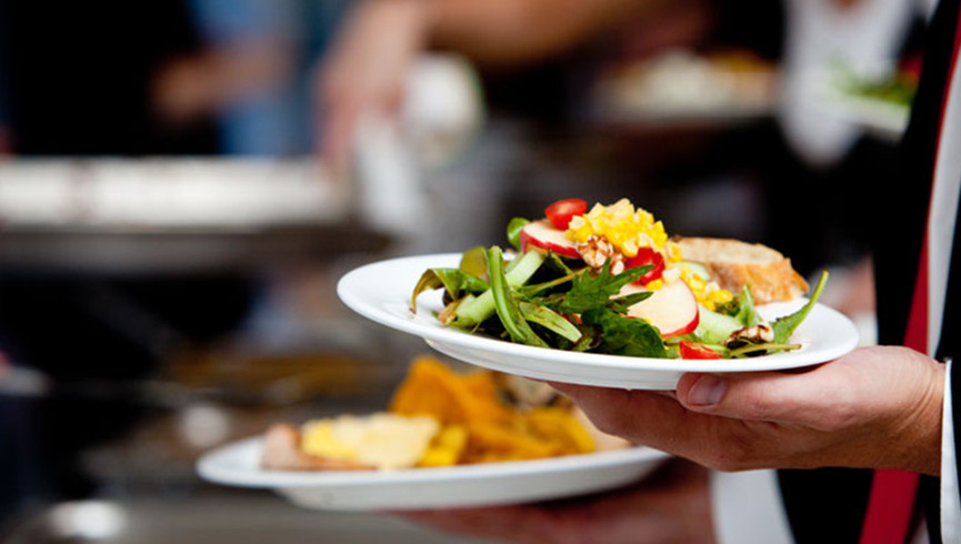 Server Holding Food   Westgate Palace Resort   Orlando, FL   Westgate Resorts