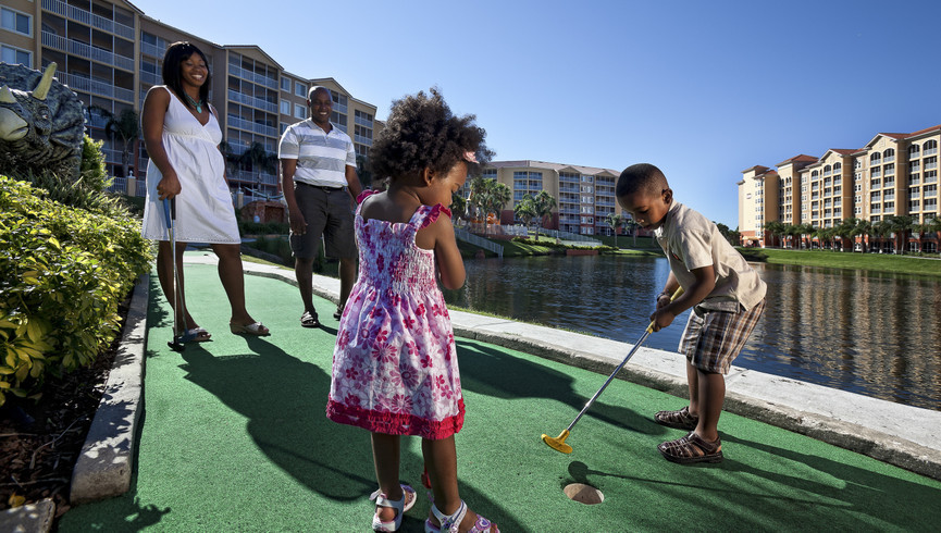Mini golf at one of our resorts in Kissimmee FL | Westgate Vacation Villas Resort & Spa | Westgate Resorts