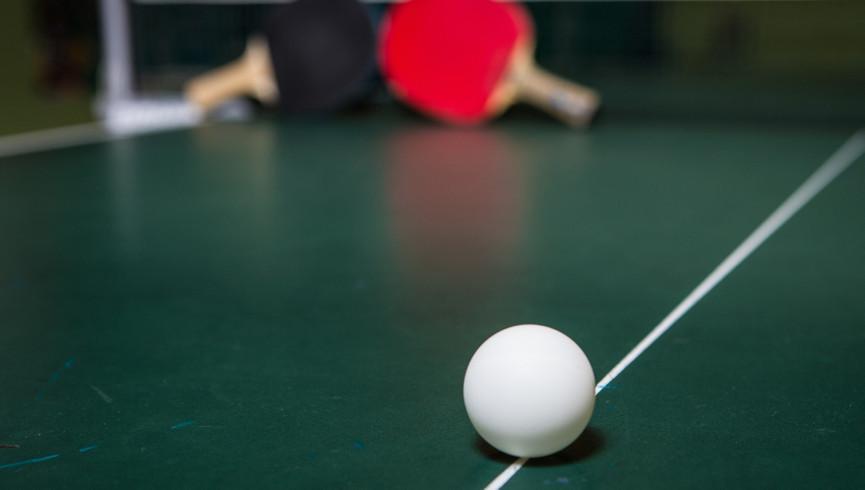Ping-pong tables at our Flamingo Las Vegas hotel | Westgate Flamingo Bay Resort | Westgate Resorts in Las Vegas NV