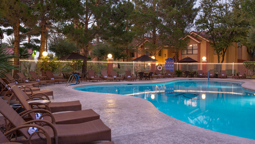 Pool at our Flamingo Las Vegas hotel | Westgate Flamingo Bay Resort | Westgate Resorts in Las Vegas NV