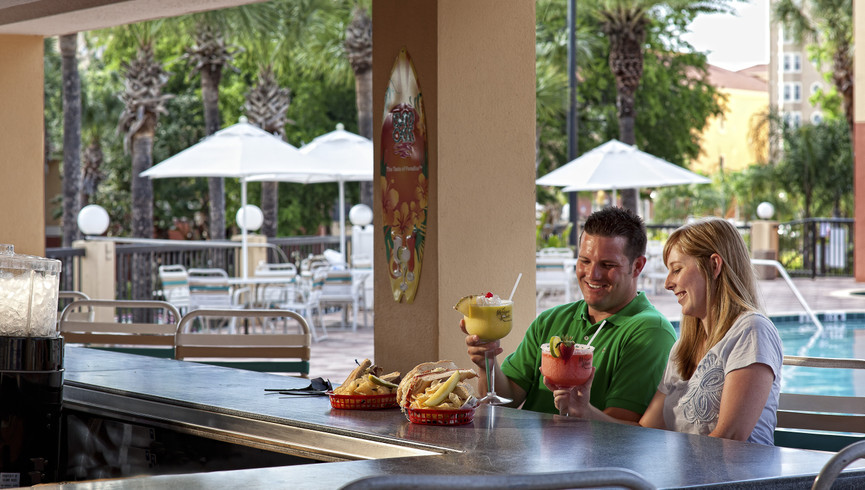 Poolside bars at our Orlando water park hotel | Westgate Vacation Villas Resort & Spa | Westgate Resorts