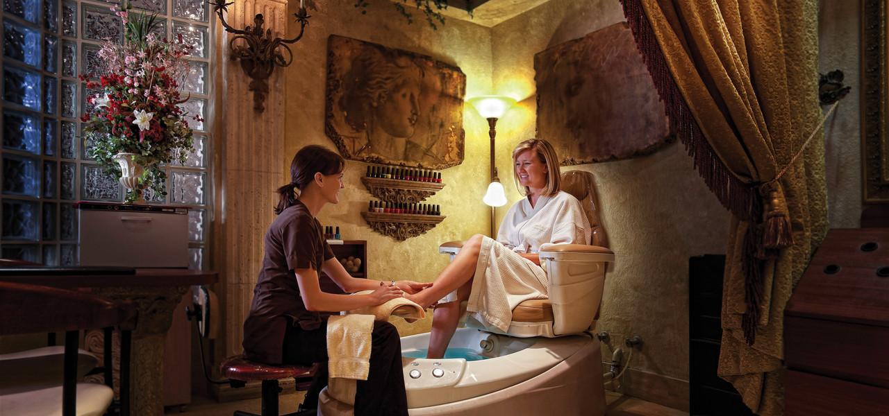 Spa Pedicure at resort in Orlando Florida |  Westgate Lakes Resort & Spa | Westgate Resort