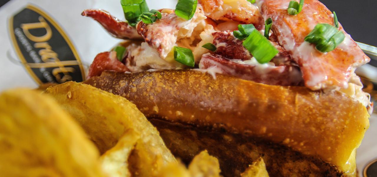 Meal at Drafts Sports Bar in Myrtle Beach SC | Westgate Myrtle Beach Oceanfront Resort | Westgate Resorts