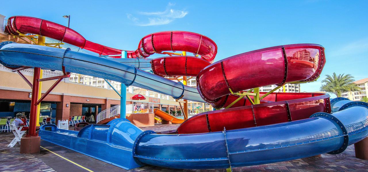 Shipwreck Island Water Park Waterslides | Westgate Town Center Resort & Spa | Westgate Resorts