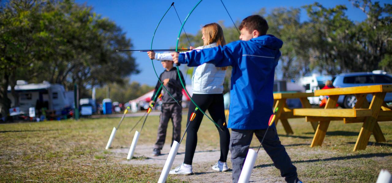 Archery Range Near River Ranch, FL |  Westgate River Ranch Resort & Rodeo | Westgate Resorts