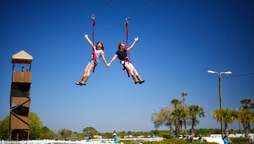 Zipline near Orlando, FL | Westgate River Ranch Resort & Rodeo | Westgate Resorts