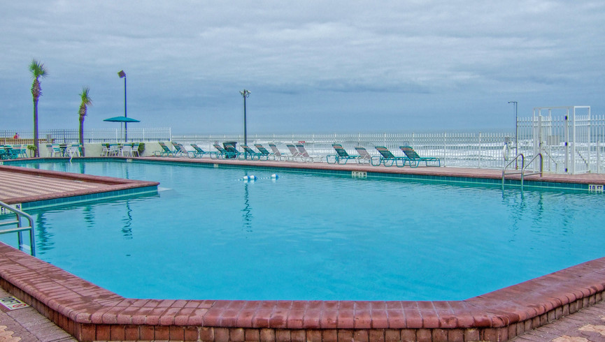 Pool at Balcony at one of our Daytona Beach resorts   Harbour Beach Resort   Westgate Resorts
